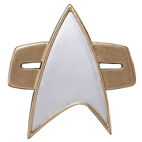 Badge Communicator (Roddenberry Star Trek Starfleet 2370S Combadge Replica)