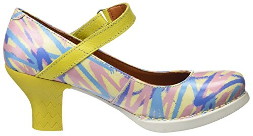 Multicolour Women's Heels Arlekin Fantasy 2 Art Toe Closed 0933f Harlem 0SHqfwa