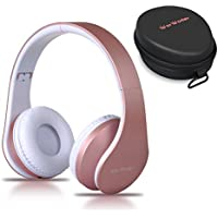 Bluetooth Headphones Over Ear, Wireless Foldable Hi-Fi...