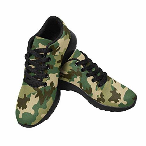 Interesprint Mujeres Trail Running Zapatillas Jogging Ligero Deportes Walking Athletic Sneakers Militar Y Caza Camuflaje Multi 1