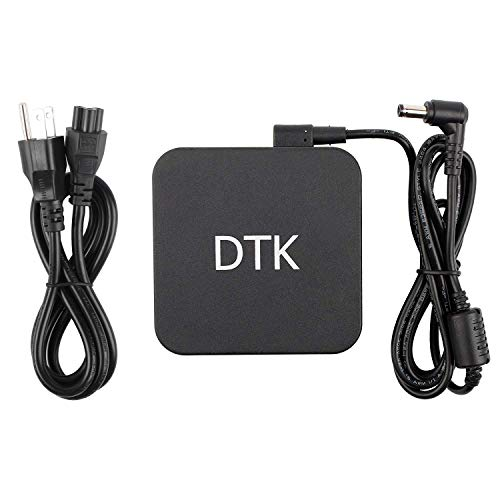 Dtk Ac Laptop Adapter Charger for ASUS K55 K55A K55N K55VD K53E K52F K50I K50IJ K52J K53 K53SV K53TA K53U K55VM K60IJ K73E N53 N56VZ N56V N56VJ N56DP N56VM N76 Power Cord Output:19V 4.74A 90W