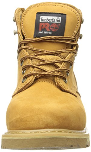 Timberland PRO Mens Pitboss 6 Soft-Toe Boot,Wheat,10.5 M Giallo (Gelb/Beige)