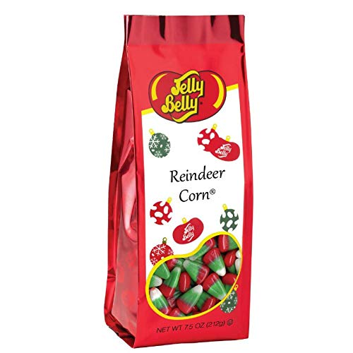 - Jelly Belly Reindeer Corn (Candy Corn) 7.5 Ounce Gift Bag