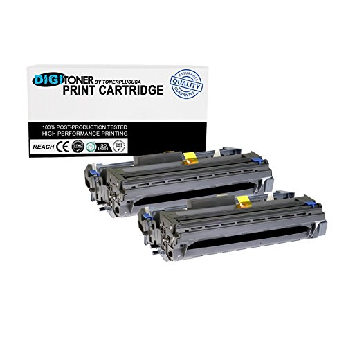 TonerPlusUSA DR520 Drum Cartridge For TN550 TN580 TN620 TN650 Use With Brother DCP-8060 DCP-8065DN MFC-8460N MFC-8470DN MFC-8660DN MFC-8670DN HL-5240 HL-5250DN (2 pack)