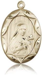 14ktゴールド聖テレサメダル