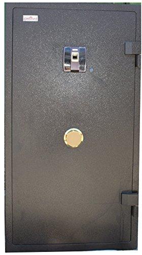 Certified-Security-Steel-Office-Home-Gun-Jewelry-Fireproof-Biometric-Key-Safe-54-H-X-23-W-x-22-D-HT54