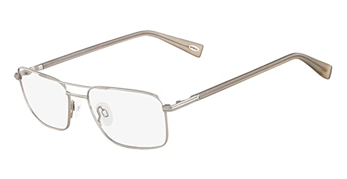 bc2f0547a62 FLEXON Eyeglasses AUTOFLEX SATISFACTION 046 Silver 55MM at Amazon ...