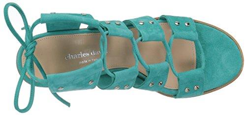 Turquoise David Sandal Women's Charles Birch Gladiator HxB8wfqXv