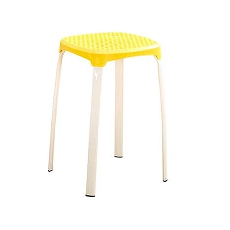 Strange Amazon Com Lifuren Bar Chair Stool Household Plastic Chair Caraccident5 Cool Chair Designs And Ideas Caraccident5Info