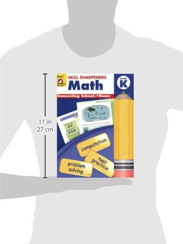 Amazon.com: Skill Sharpeners Math, Kindergarten (0234720454472 ...