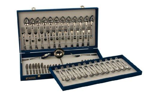 Monix-Oslo-Set-75-piezas-cubiertos-de-acero-inox-1810-con-cuchillo-chuletero