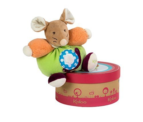 Kaloo Farbes Small Mouse with Snail by Kaloo