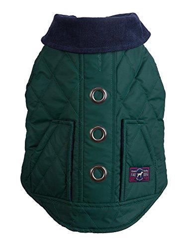 Fab Dog Reversible Barn Dog Jacket, Hunter, 14'' Length by fabdog