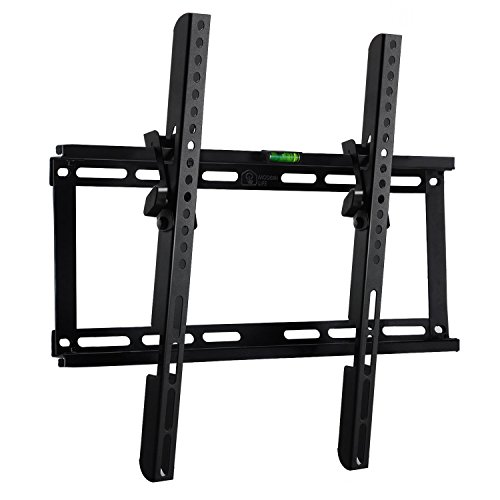 Happyjoy Tilt TV Wall Mount Bracket for Most of 23-54 Inches Flat Plasma LED LCD TVs with VESA Max 400x400mm Spirit Level ()