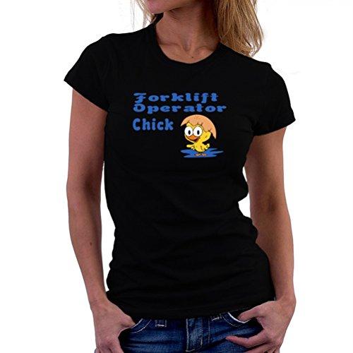 Forklift Operator chick T-Shirt