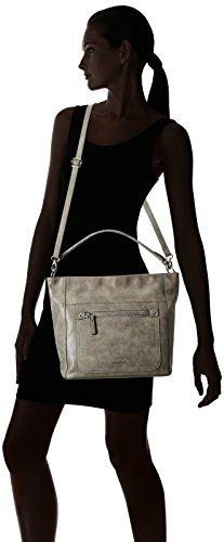 GERRY WEBER Best Friend Hobo - Shopper Mujer Gris - Grau (grey 800)