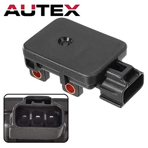 AUTEX MAP Sensor AS88 Manifold Absolute Pressure Sensor Compatible with Dodge Durango & B1500 & B2500 & B3500 & Dakota & Ram 1500 & Ram 1500 Van & Ram 2500 Van & Ram 3500 Van & Jeep Grand Cherokee