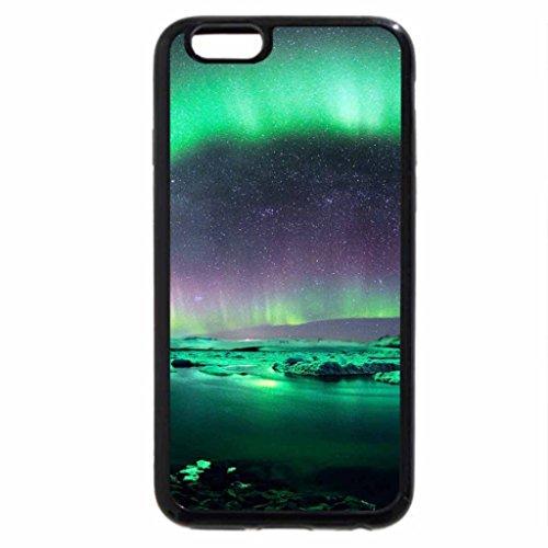 iPhone 6S / iPhone 6 Case (Black) Aurore sur le lac