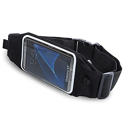 Sports Waist Bag for Running/Biking/Climbing Compatible with iPhone 6/6S/6plus/6splus Galaxy S6 S6 Edge S7 S7 edge and Other Smartphone