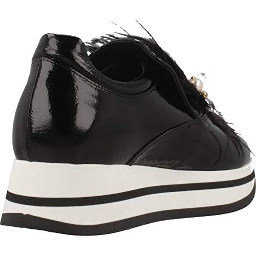 Pelle Blu Slip Nero Sf1809s168 On Tosca bergen Sneaker Pelliccia Nappalak Perle 6qqaX