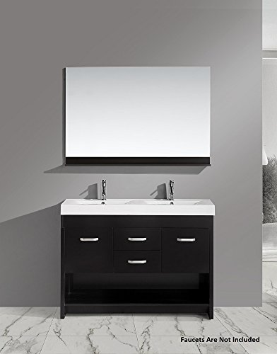 Citrus Espresso Vanity Set w/Double Sink 48'' by Design Element by Design Element