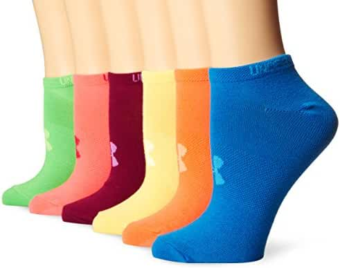 Under Armour Women's Liner No-Show Socks (6 Pairs)