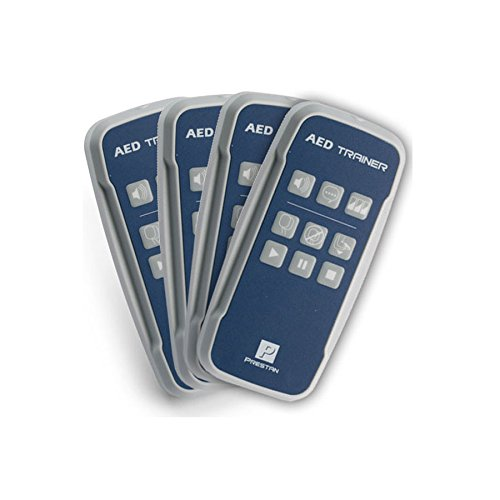 Prestan Professional 4-Pack AED Trainer Remote