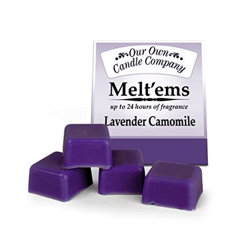 OBI Wax Melts - Scented Tarts - 4 Wax Cubes - Melt Cups for Candle Warmer- Lavender Chamomile Tart