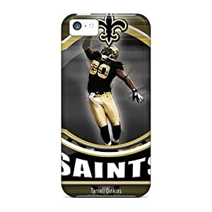 Top Quality Rugged New Orleans Saints Case Cover For Iphone 5c