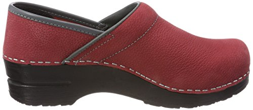 grey Electra Red Rot Prof Women''s Clogs Sanita dark 0nCH1q1