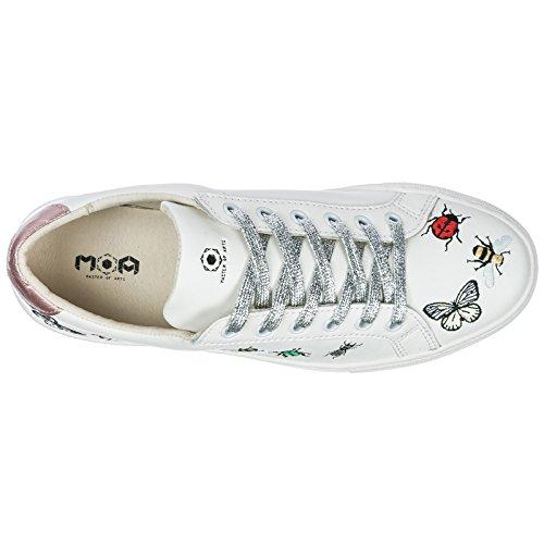 Arts Bianco Master Sneakers Donna Of Moa qxCU7vwEx