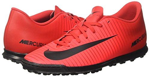 Scarpe Vortex Per Multicolore Mercurialx Calcio Redblackbright Uomo Iii university Crimson Allenamento Tf Nike OwXI6xx