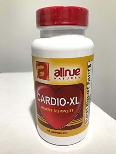 Cardio - XL Heart Support by allnue Natural, 60 Capsules, Guggul Extract, (Mantiene el buen Ritmo cardiaco, limpia y da flexibilidad a arterias y venas oxigena la Sangre) Dietary Supplement