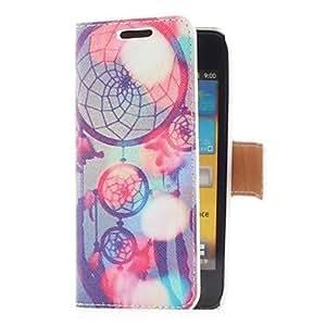 Sueño Funda de cuero Catcher Estilo con ranura para tarjetas y soporte para el I9070 Samsung Galaxy S Advance