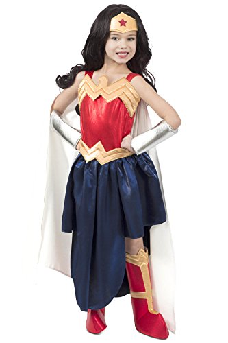 Princess Paradise DC Superhero Girls Wonder Woman Formalwear Costume, Medium