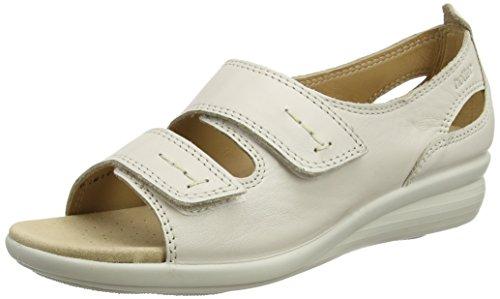 Hotter Women's Florence EXF Open-Toe Sandals Beige (Soft Beige) 2cvc0vcx