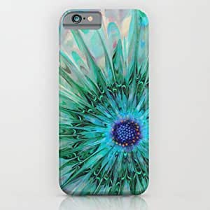 Society6 - Turquoise Flower iPhone 6 Case by Klara Acel
