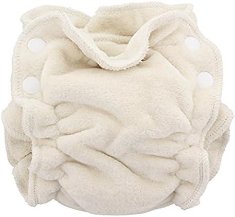 Blueberry höschen pañales Fitted pañal para recién nacidos de algodón ecológico: Amazon.es: Bebé