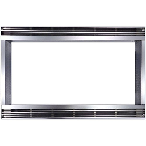 27 In. Built-In Trim Kit for Sharp Microwave R551ZS - Stainless Steel by Sharp