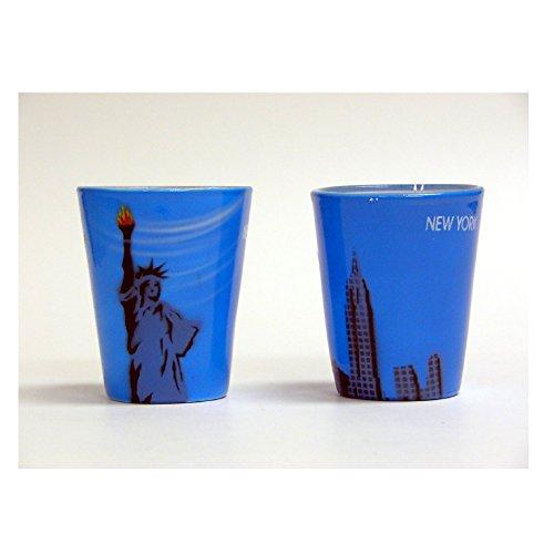 Shot Glass Statue of Liberty Shot Glass - New York City Souvenir anf Gift - NYC Shot ()