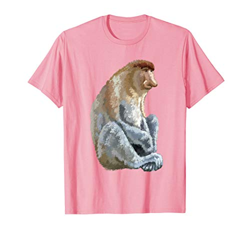 (Proboscis Monkey T Shirt Tshirt tee)