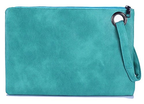 Green Handbag Casual (Evening and daily casual clutch bag (mint))
