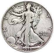 Various Mint Marks Walking Liberty Half Dollar XF/VF 90% Silver Extra Fine Half Dollar Very Fine Half Dollar E