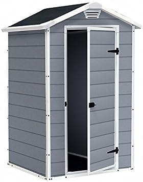 Caseta de resina Manor, 4 x 3 m: Amazon.es: Bricolaje y herramientas