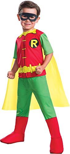Rubie's Boys Dc Comics Robin Costume X-Small