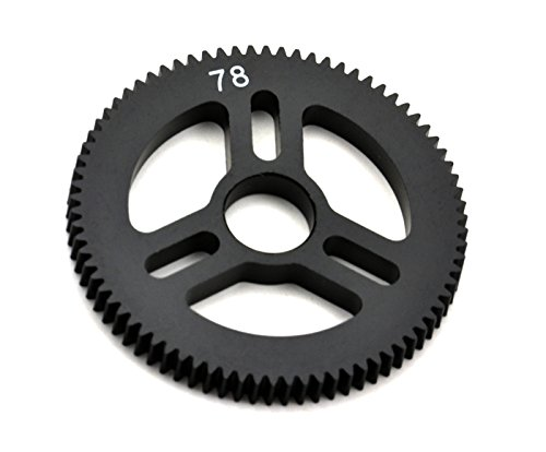 (Exotek RC 1546 Flite Spur Gear 48P 78T Machined Delrin for Exo Spur Gear Hubs)