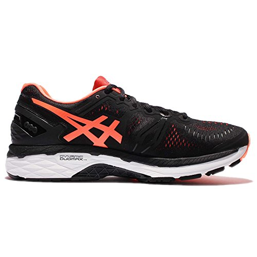 VERMILION ORANGE HOT HOT Vermilion ASICS BLACK Men Black 2E Gel Kayano 23 Orange nBv7WvPOq8