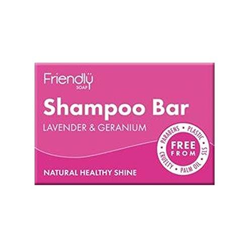 Friendly Soap Natural Shampoo Bar Lavender & Geranium 95g ()