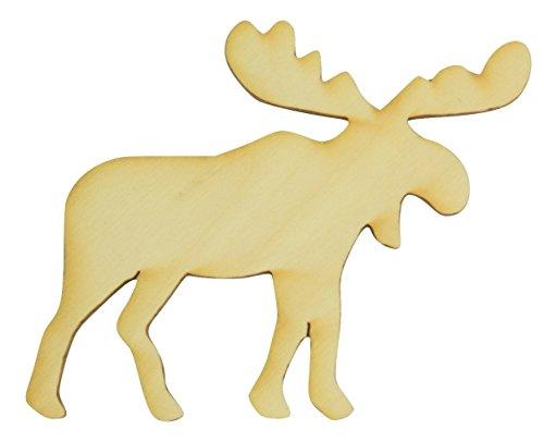 (Wooden Moose Cutout 4