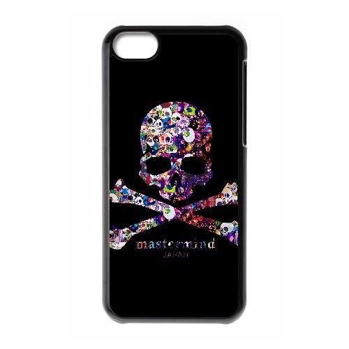 N5Q57 ACU logo cas de téléphone T4X8OQ coque iPhone 5c cellulaire couvercle coque noire DI4NST3AK